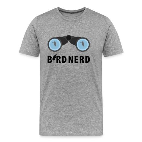 Bird Nerd (vogelaar) - Mannen Premium T-shirt