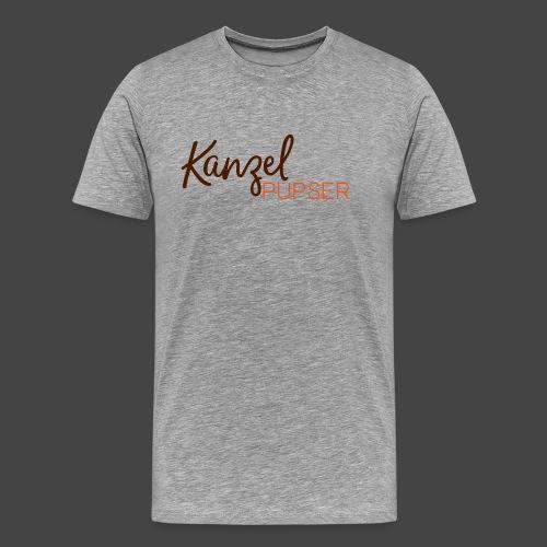 "Das ""Kanzelpupser""-Shirt für Jäger - Männer Premium T-Shirt"