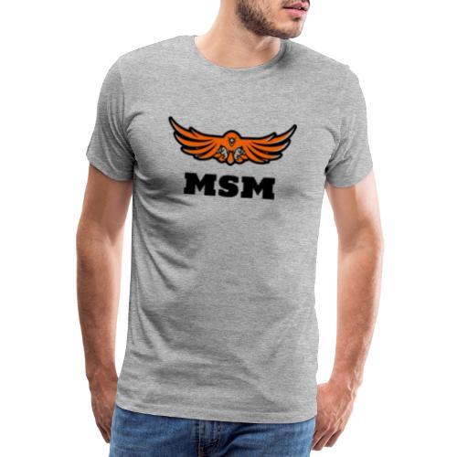 MSM EAGLE - Herre premium T-shirt