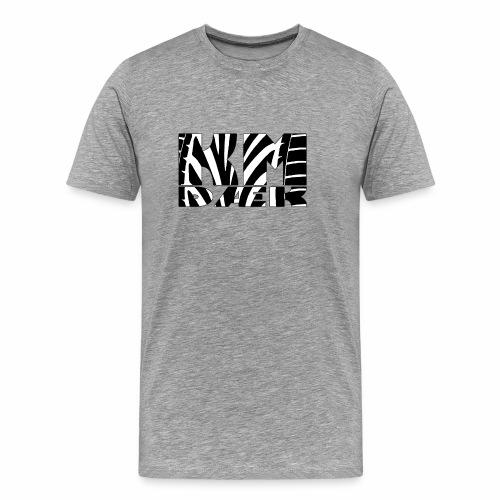 KM_black - Herre premium T-shirt