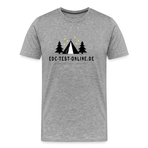 edctestonline.de - Männer Premium T-Shirt