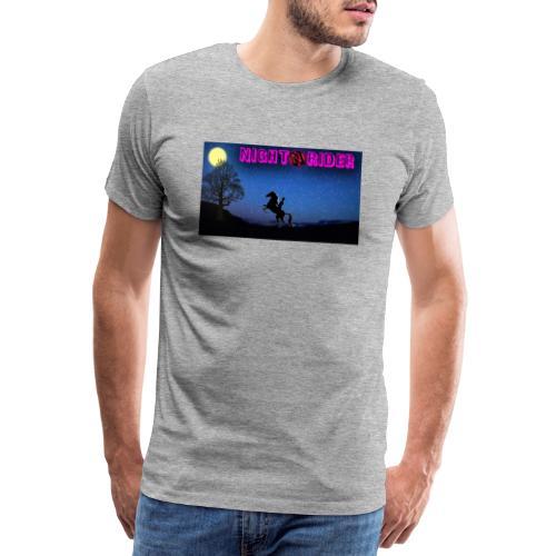 nightrider merch - Herre premium T-shirt
