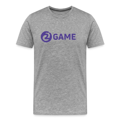 2Game Logo - Purple - Men's Premium T-Shirt