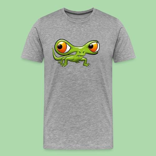 Monster Echse - Männer Premium T-Shirt