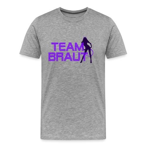 JGA Jungesellinnnenabschied Braut - Männer Premium T-Shirt