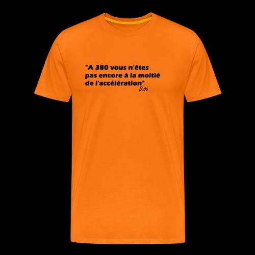 380 noir - T-shirt Premium Homme