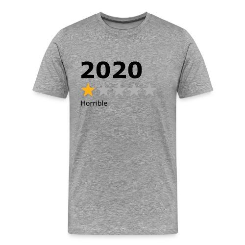2020 horrible - T-shirt Premium Homme
