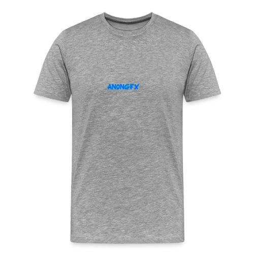 An0nGFX Logo - Herre premium T-shirt