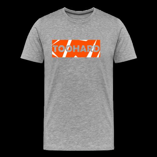 Sweatshirt - TooHard Logo 2 - Men's Premium T-Shirt