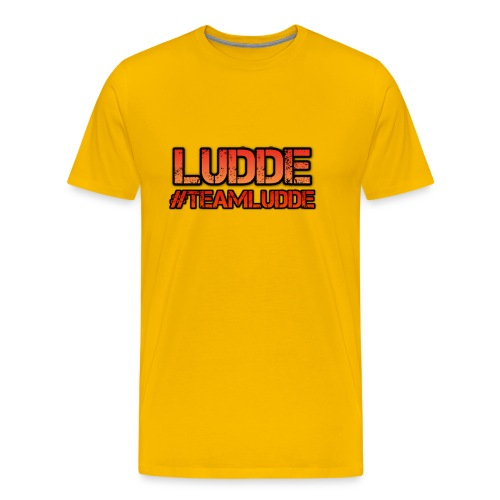 TEAMLUDDE MOTIV - Premium-T-shirt herr