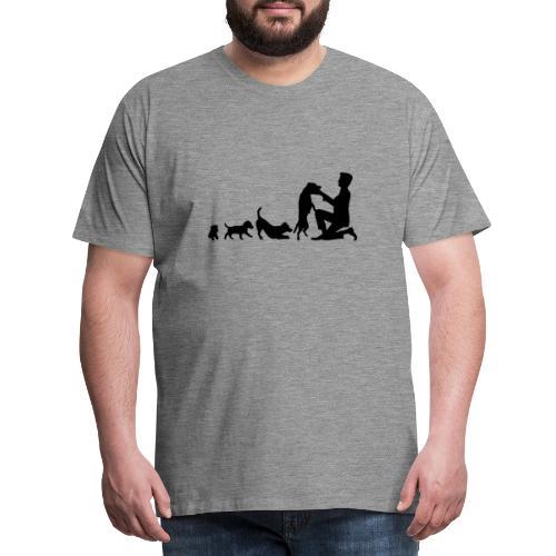 Jack Russel Terrier EVOLUTION - Männer Premium T-Shirt