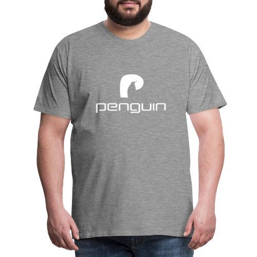 penguin white - Männer Premium T-Shirt