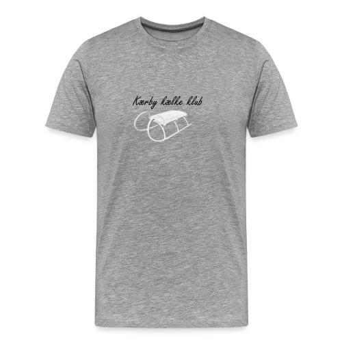 Kælke logo - Herre premium T-shirt