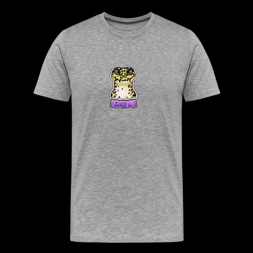 Reptopia Logo Tee - Men's Premium T-Shirt