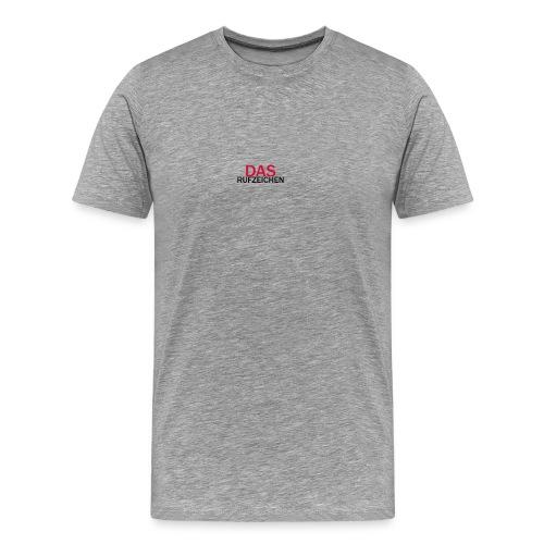 DasRufzeichen v.2.0 - Männer Premium T-Shirt