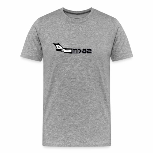 MD82 mit Logo - Männer Premium T-Shirt