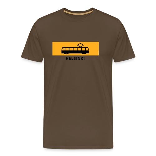 RATIKKA PYSÄKKI HELSINKI T-paidat ja lahjatuotteet - Miesten premium t-paita