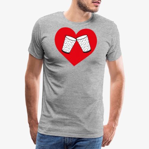 Schorle Liebe – Dubbegläser - Männer Premium T-Shirt