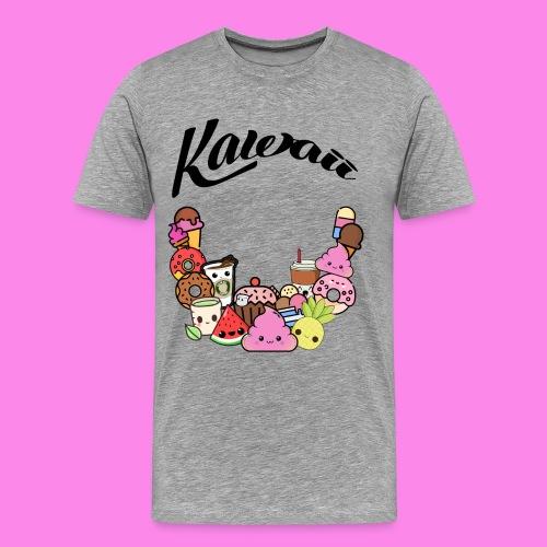 Kawaii - Süssigkeiten Sweets - Männer Premium T-Shirt