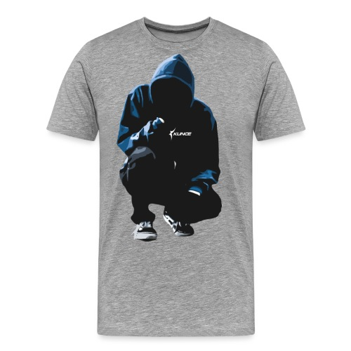 Kunce Clothing Original Hoodie Trace - Men's Premium T-Shirt