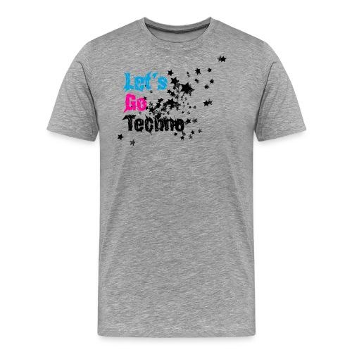lgt shirtddd 4000x3400px aufgrau - Männer Premium T-Shirt