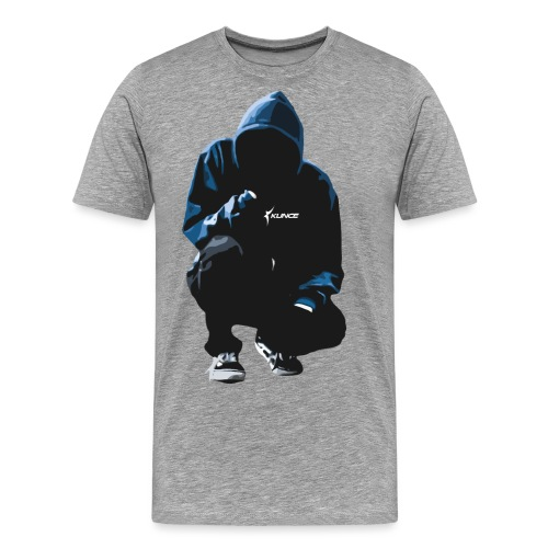 Kunce Clothing Original Hoodie Trace - Men's Premium T-Shirt