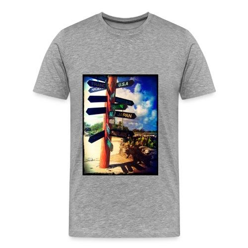 directions jpg - Mannen Premium T-shirt