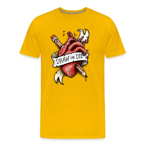 Draw or Die - Men's Premium T-Shirt