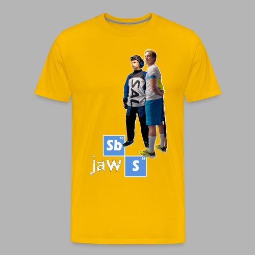 Breaking Jaws - Miesten premium t-paita