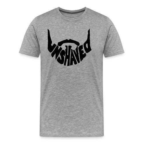 unshaved_logo - Männer Premium T-Shirt