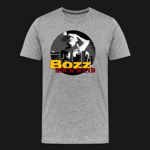BRB Indian Logo SW schwarz png - Männer Premium T-Shirt