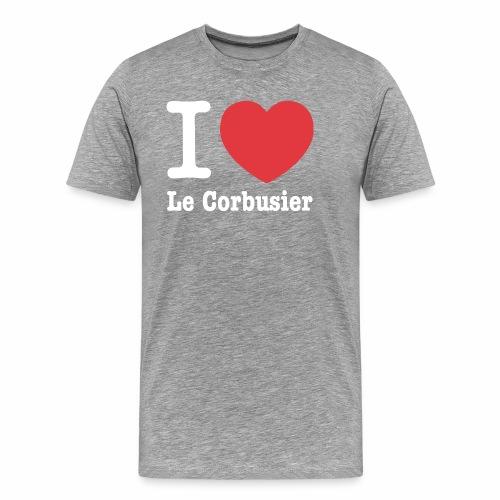 Love Le Corbusier - Camiseta premium hombre