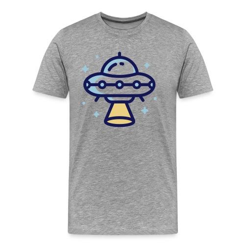 Space Spaceship - Mannen Premium T-shirt