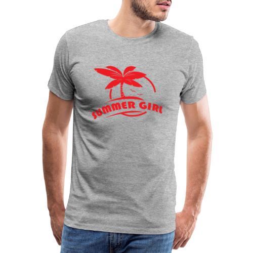 Summer Girl - Männer Premium T-Shirt
