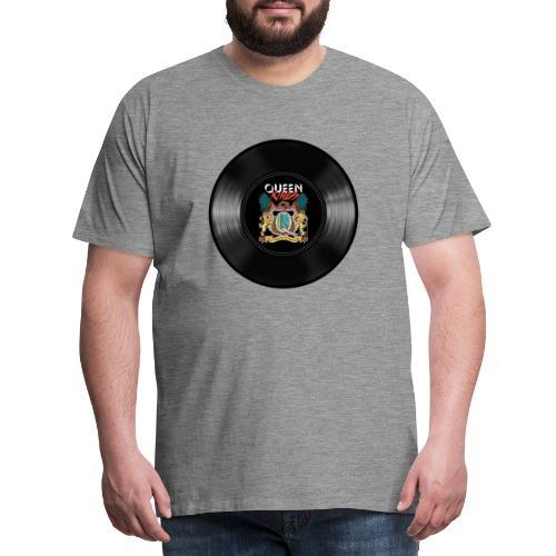 Vinyl - Männer Premium T-Shirt