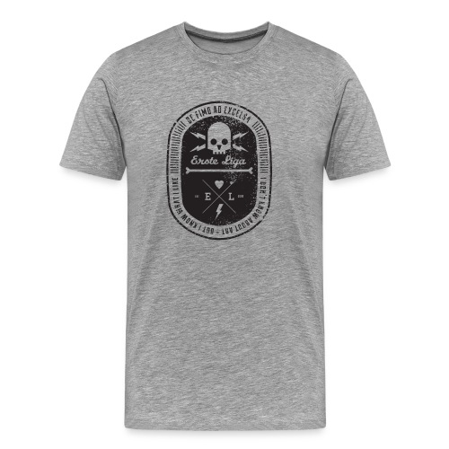 el shirt dirt black - Männer Premium T-Shirt
