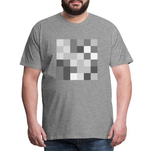Pixel - Männer Premium T-Shirt