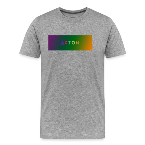 Axton tie dye - Herre premium T-shirt