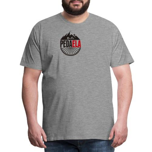 PEDAELA - Camiseta premium hombre