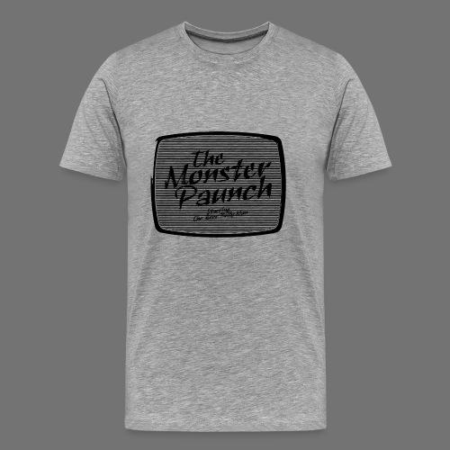 Brzuch Monster (czarny) - Koszulka męska Premium