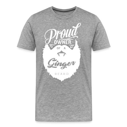 Proud owner - ginger - Premium-T-shirt herr