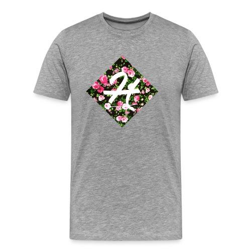 flowerprinthenkh - Mannen Premium T-shirt