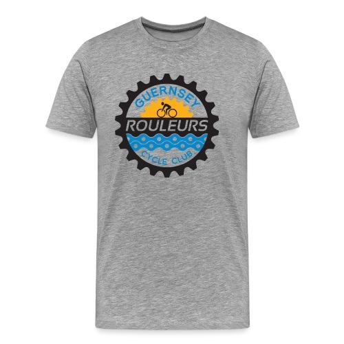 Guernsey Rouleurs Logo - Men's Premium T-Shirt