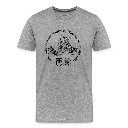 sans mes avocats - bl tra - Männer Premium T-Shirt