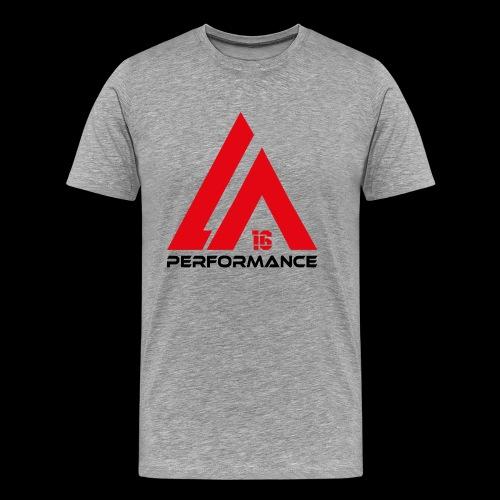LA Performance red/black - Männer Premium T-Shirt