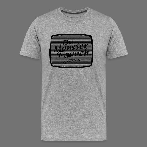 Monster Paunch (musta) - Miesten premium t-paita