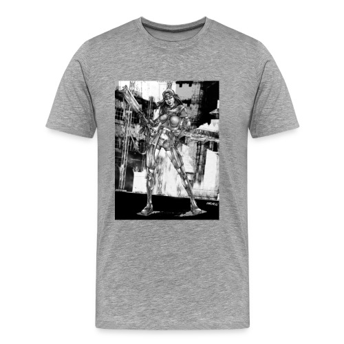 Pin-up of the futur 1 - T-shirt Premium Homme