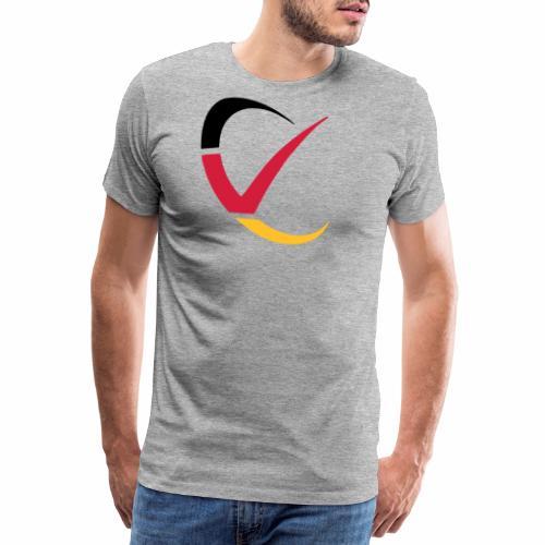 Veteran Deutschland Logo - Männer Premium T-Shirt
