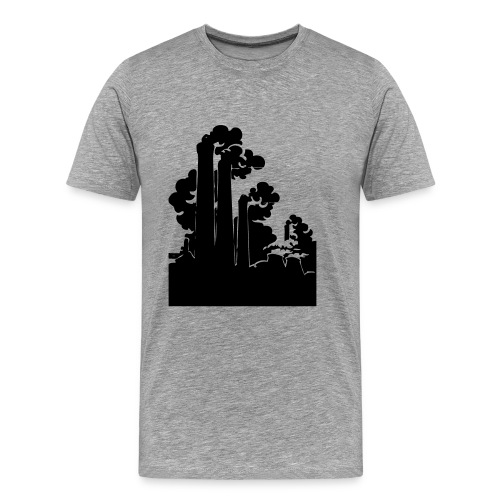 chimneys T-skjorter - Premium T-skjorte for menn
