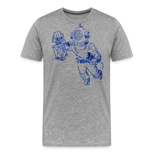 taucher png - Männer Premium T-Shirt